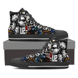 U2 High Top Canvas Shoe