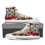 Lou Reed High Top Canvas Shoe
