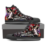 Metallica High Top Canvas Shoe