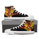 Nirvana High Top Canvas Shoe