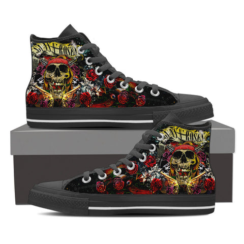 Guns n Roses High Top Canvas Shoe