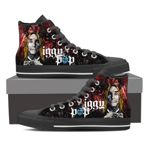 Iggy Pop High Top Canvas Shoe