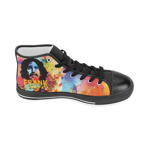 Frank Zappa High Top Canvas Shoe