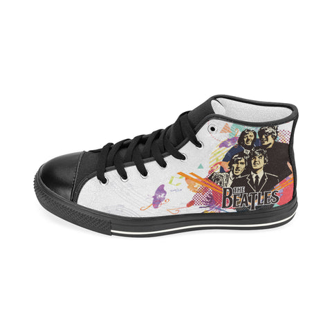 The Beatles High Top Canvas Shoe