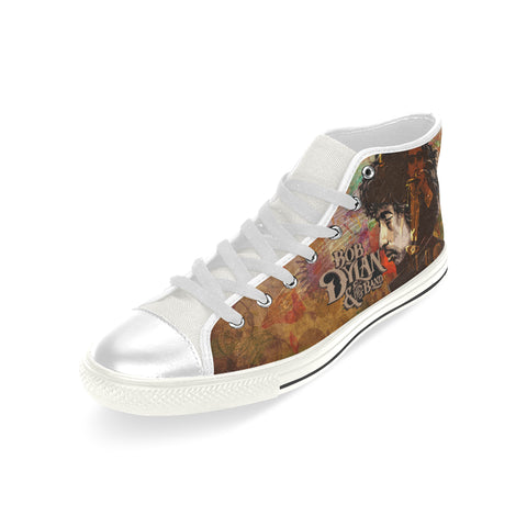 Bob Dylan High Top Canvas Shoe