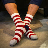 High Quality Men's Striped Socks