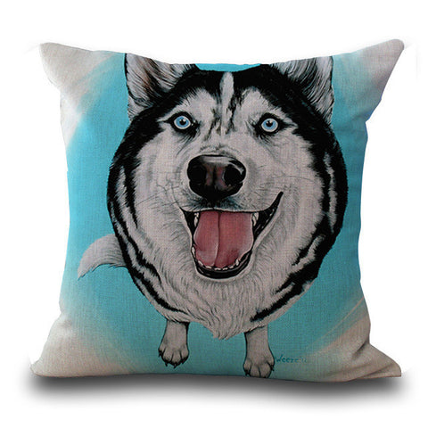 Husky Pillow Case
