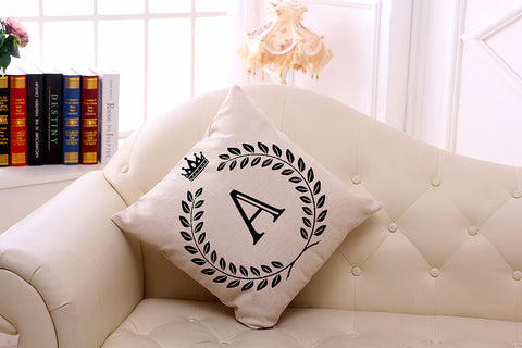 Pillow Cases with Letters