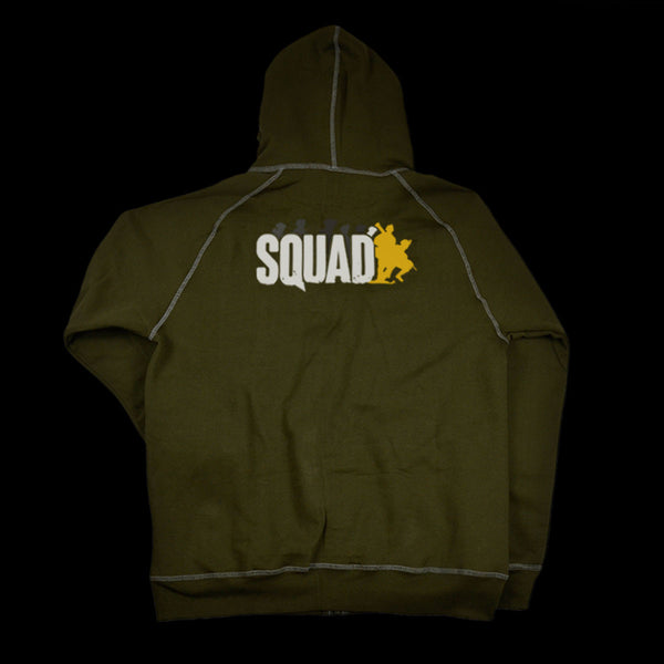 Hooded Sweatshirt [military green]