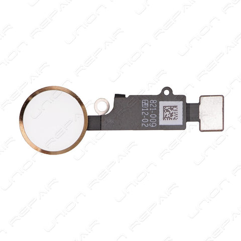 Home Button Flex Cable Assembly - Gold (iPhone 7) / (iPhone 7 Plus)