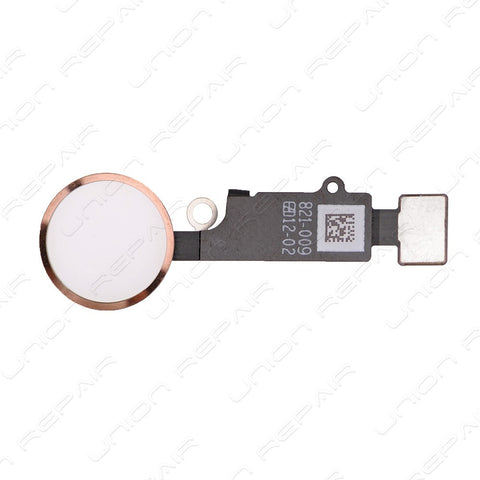 Home Button Flex Cable Assembly - Rose Gold (iPhone 7) / (iPhone 7 Plus)