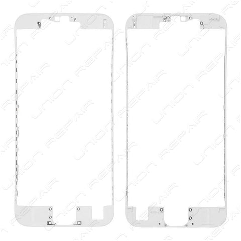 LCD Frame Bezel with glue - White (iPhone 6S)