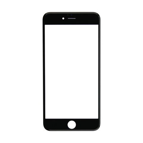 Pre-assembled Glass and Frame - Black (iPhone 6S)