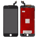 Glass and Digitizer with LCD Assembly - Black (iPhone 6S Plus)