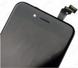 Glass and Digitizer with LCD Assembly - Black (iPhone 6)
