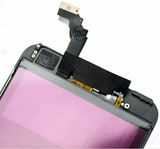 Glass and Digitizer with LCD Assembly - Black (iPhone 6 Plus)