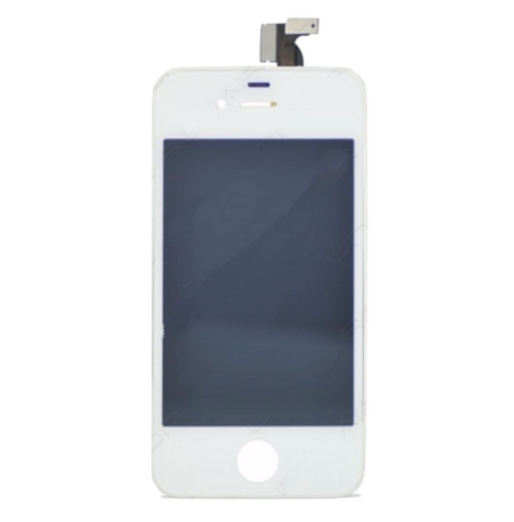 Glass and Digitizer with LCD Assembly - White (iPhone 4s)