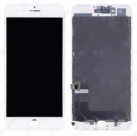 Glass and Digitizer with LCD Assembly - White (iPhone 7 Plus)