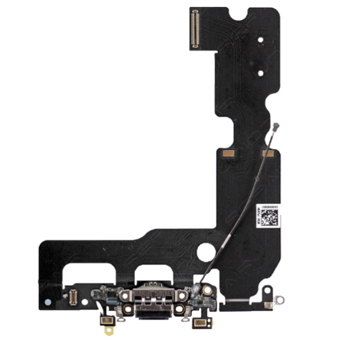 Charging Port with Headphone Jack Flex Cable - Black (iPhone 7 Plus)