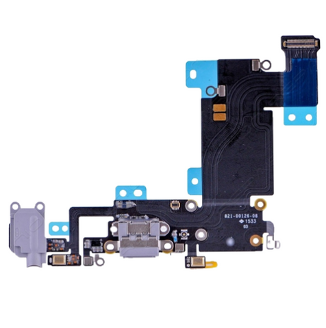 Charging Port with Headphone Jack Flex Cable - Dark Gray (iPhone 6S Plus)
