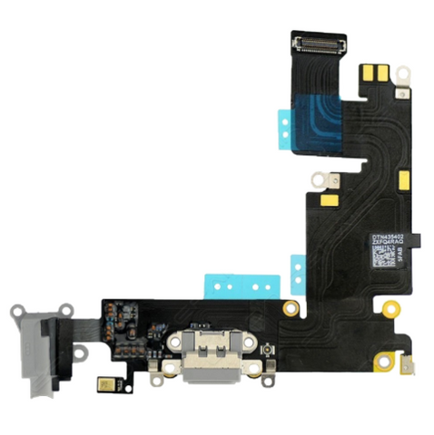Charging Port with Headphone Jack Flex Cable - Dark Gray (iPhone 6 Plus)