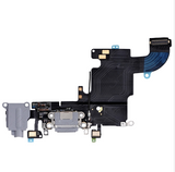 Charging Port with Headphone Jack Flex Cable - Gray (iPhone 6S)