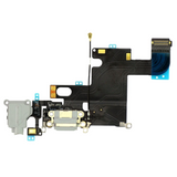 Charging Port with Headphone Jack Flex Cable - Light Gray (iPhone 6)
