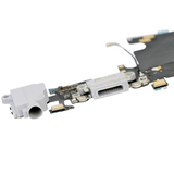 Charging Port with Headphone Jack Flex Cable - Silver (iPhone 6S)