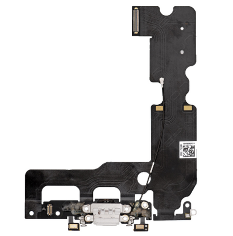 Charging Port with Headphone Jack Flex Cable - White (iPhone 7 Plus)