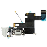 Charging Port with Headphone Jack Flex Cable - White (iPhone 6)