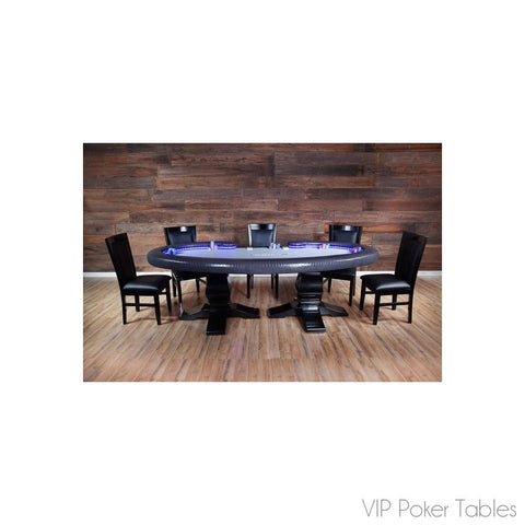 "Poker Table - BBO 101.5"" Lumen LUMENHD 10-Person Custom Poker Dining Table"