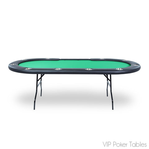 "Poker Table - BBO 96"" Aces Pro BBOACES 10-Person Custom Tournament Poker Table"