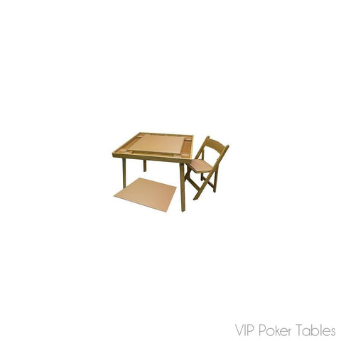 "Poker Table - Kestell 35"" Compact Oak Square O-435T Folding Poker Table"