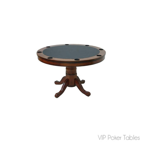 "Poker Table - RAM Game Room 48"" GMTBL48 8 Person Round Poker Table"