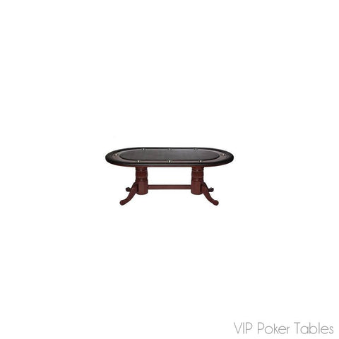 "Poker Table - RAM Game Room 82"" GMTBL84 8 Person Texas Hold 'Em Poker Table"