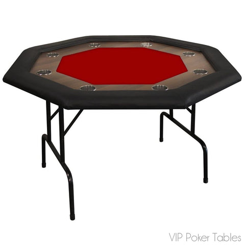"Poker Table - Supreme 48"" Foldable 15110 Octagon Poker Table"