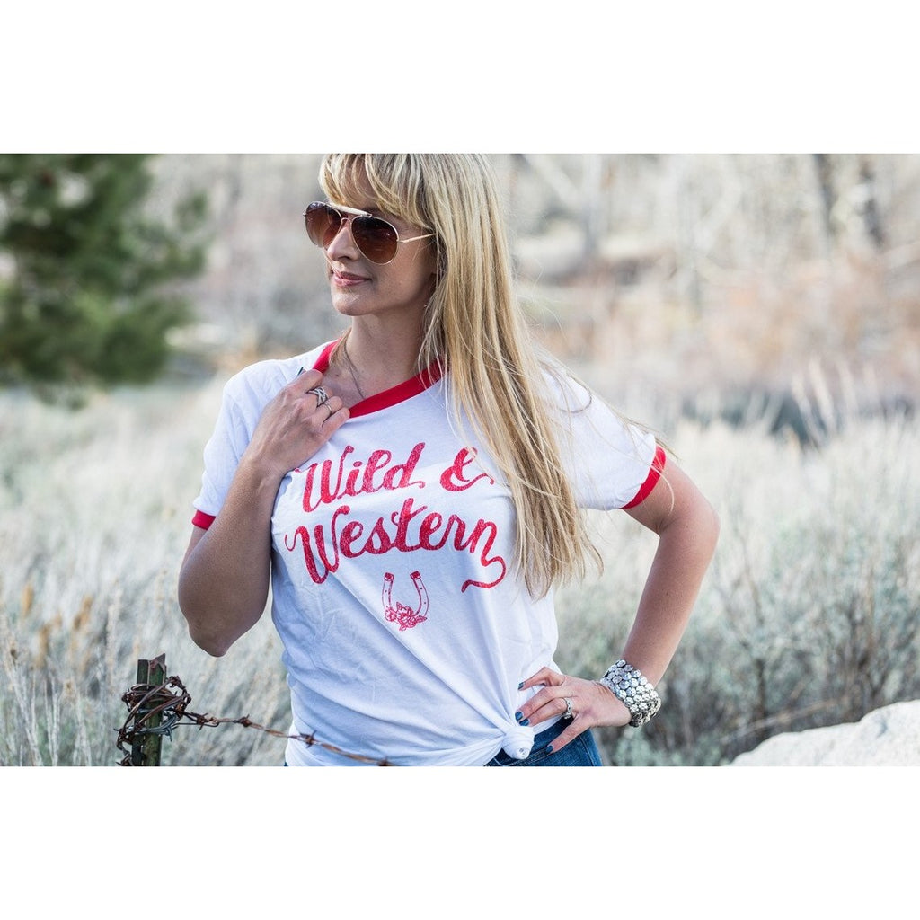 Wild and Western Tee