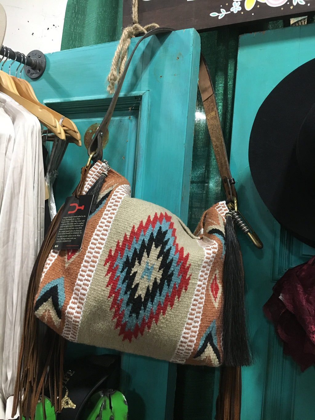 Zia Saddle Blanket Bag