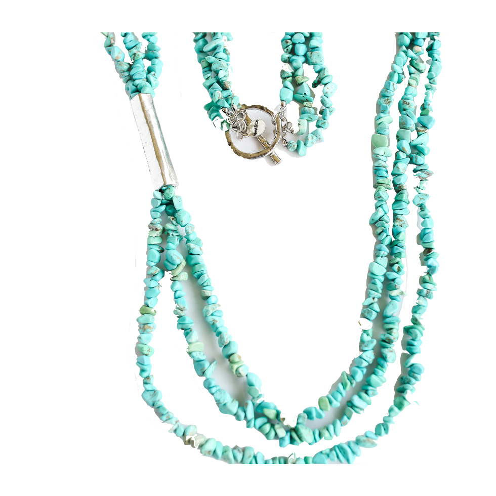 Turquoise Strand Necklace