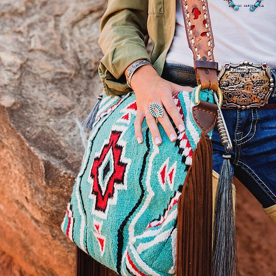 Cario Saddle Blanket Bag