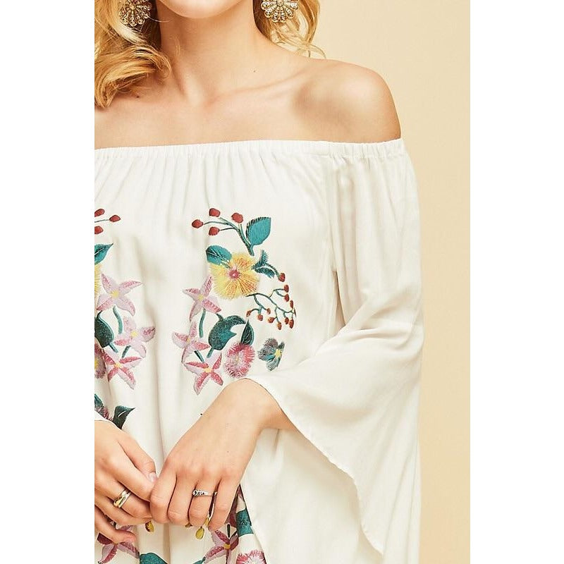 Georgia Off Shoulder Dress