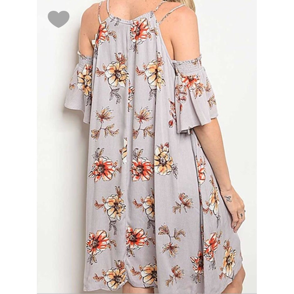 Laila Cold-Shoulder Dress