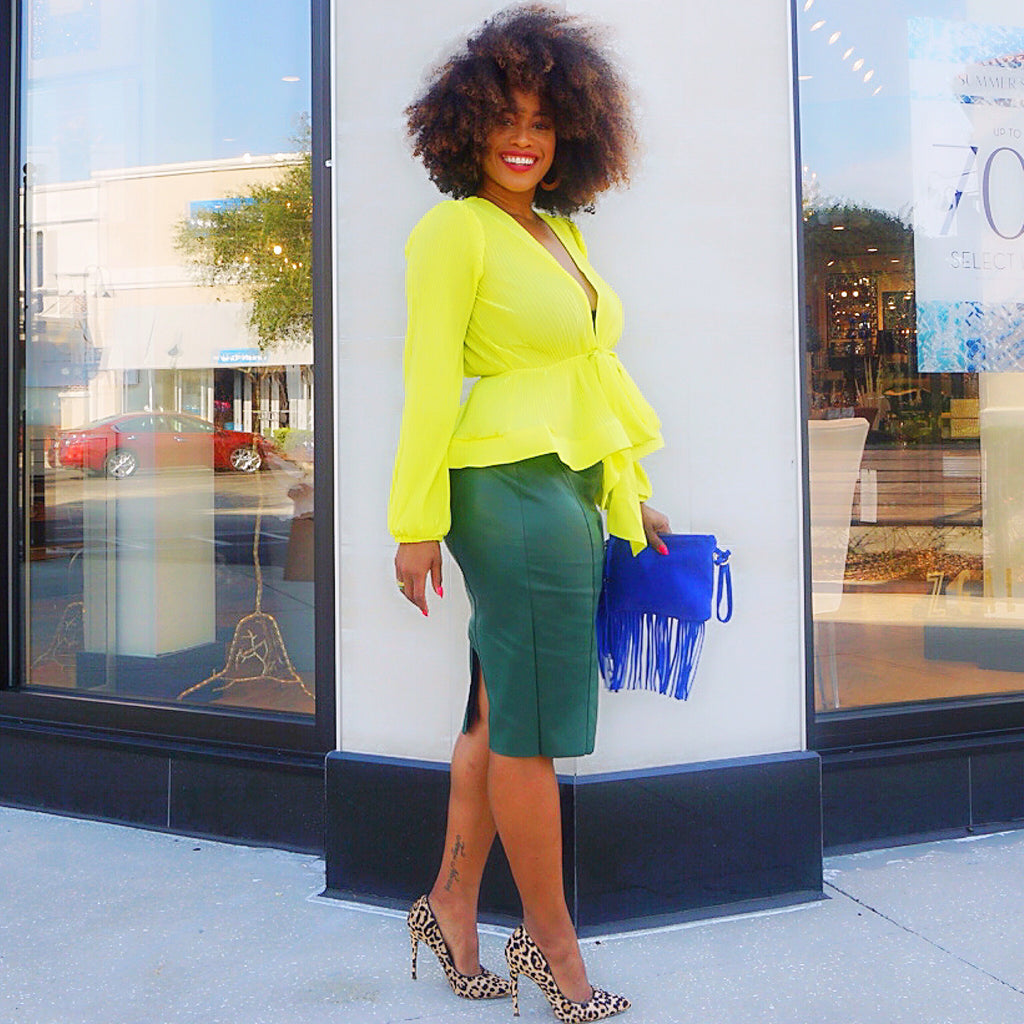 Blogger Edit- Meet Ericka D. of Curves, Curls and Convo