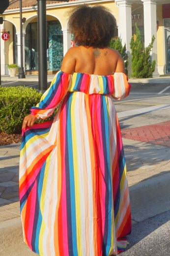 Daysha Maxi Dress- Multi