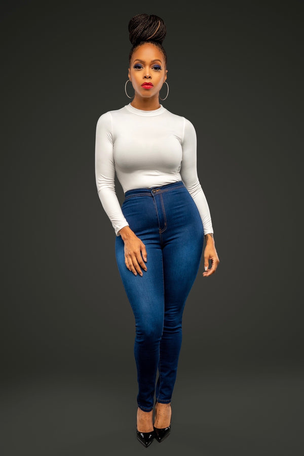 Chrisette Pretty Perfect High Waist Skinny Jeans