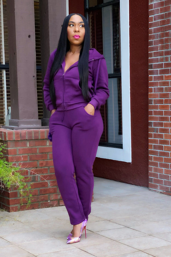 Nora Two Piece Jazzy Jogger Set