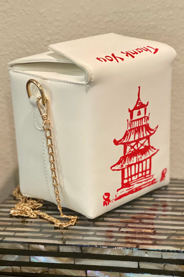 Chinese Take Out- Thank You Handbag