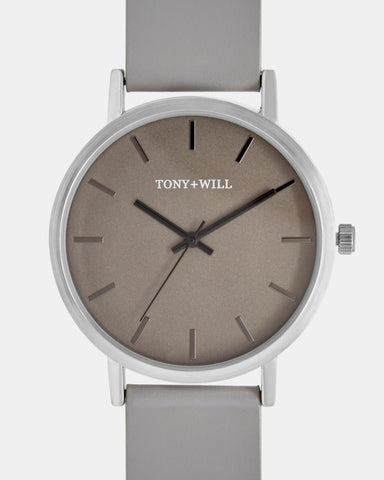 TWT004C (36MM Medium Face) Silver Grey Grey