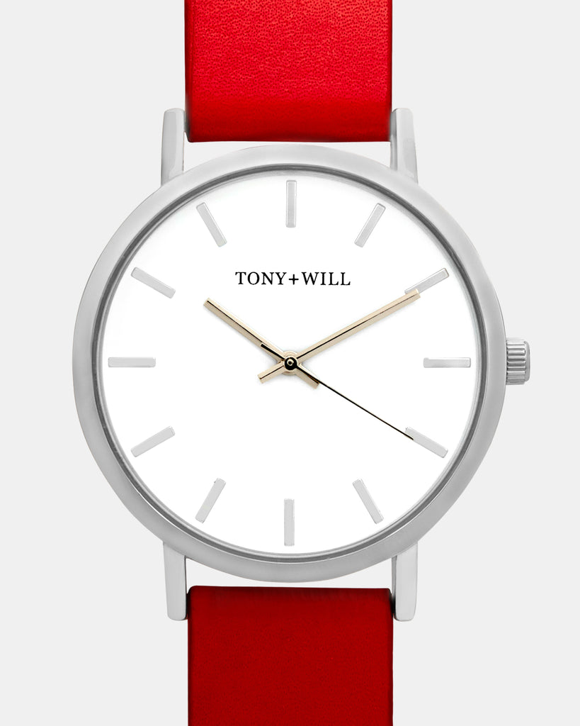 TWT000C Silver White Red