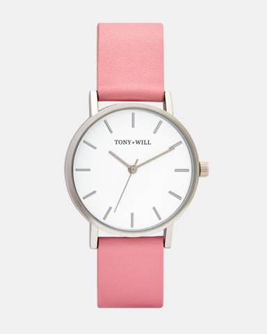 TWT004B (36MM Medium face) Silver White Pink was $89.95 NOW